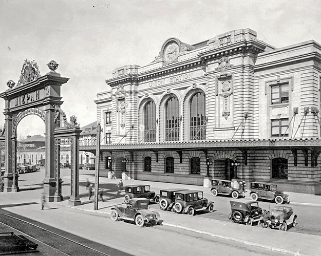 Celebrating 140 years since the first opening of Denver's Union Station in 1881.